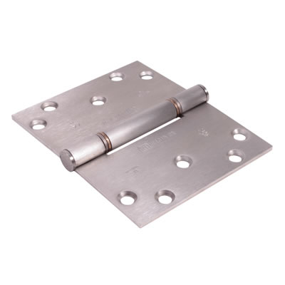 Royde & Tucker (H102-B) Triple Knuckle Projection Hinge - 100 x 124 x 3mm - Satin Stainless Steel