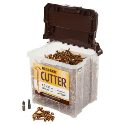 Reisser Cutter Tub - 4.0 x 30mm - Pack 1500)
