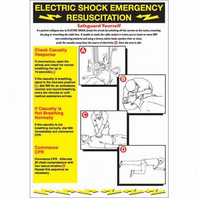Electric Shock - 600 x 420mm)