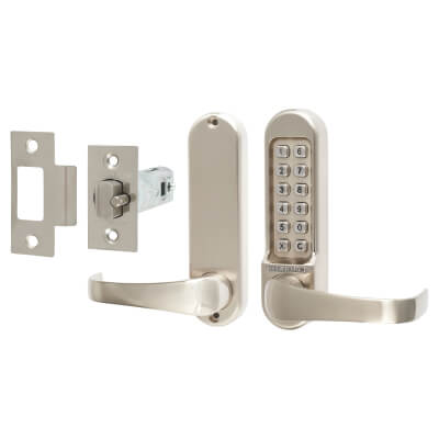 Codelocks 510 Mechanical Lock - Stainless Steel