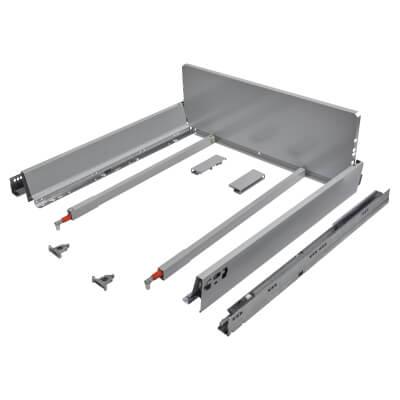 Blum TANDEMBOX ANTARO Pan Drawer - BLUMOTION Soft Close - (H) 203mm x (D) 550mm x (W) 800mm - Grey