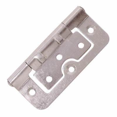 Hurlinge Hinge - 75 x 51 x 1.5mm - Zinc Plated - Pair