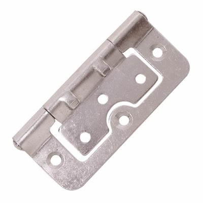 Hurlinge Hinge - 75 x 51 x 1.5mm - Zinc Plated - Pair