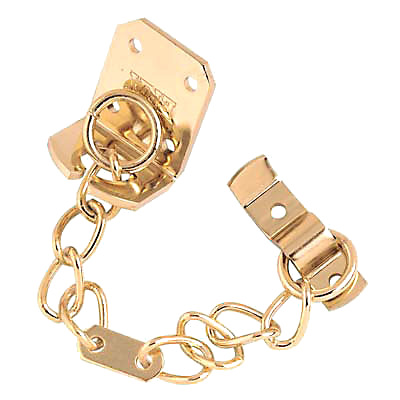 Standard Door Chain - Brass Plated