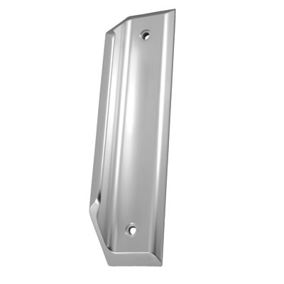Anti-Ligature Pad Handle - 300 x 65mm - Aluminium