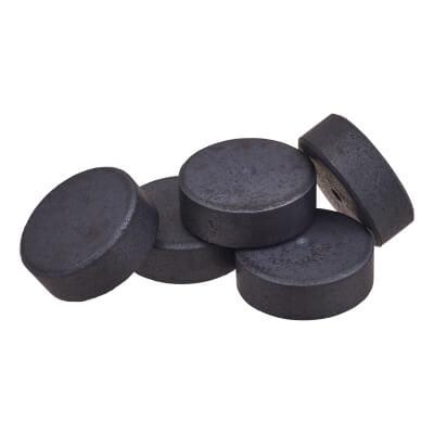 Ferrite Disc Magnet - 14 x 5mm - Pack 5
