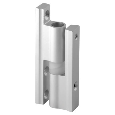 Pro Self Closing Hinge - Satin Anodised Aluminium - 17-19mm Panels