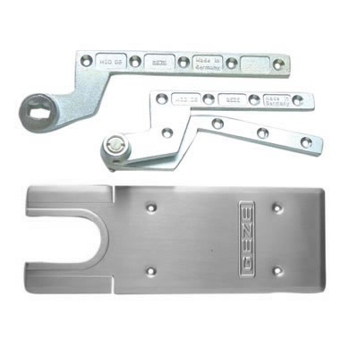 GEZE TS550NV Accessory Pack - Single Action - Satin Stainless Steel