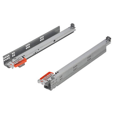 Blum TANDEM BLUMOTION Soft Close Drawer Runners - Full Extension - 400mm - 30kg