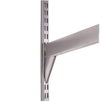 elfa® Reinforced Bracket - 570mm - Silver