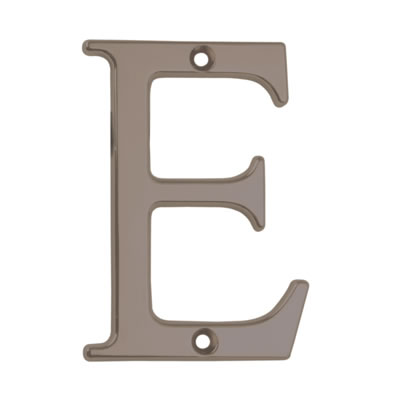 76mm Letter - E - Bright Bronze