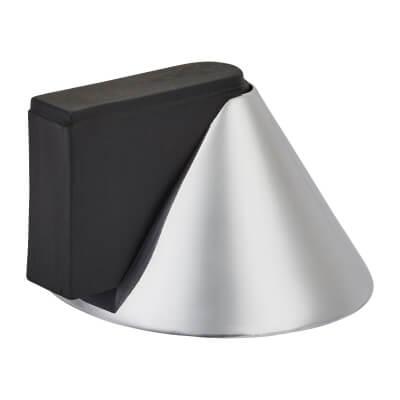 Designer Conical Door Stop - 40 x 32mm - Polished Chrome