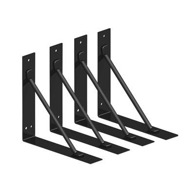 Timber Gate Building Kit - Black)