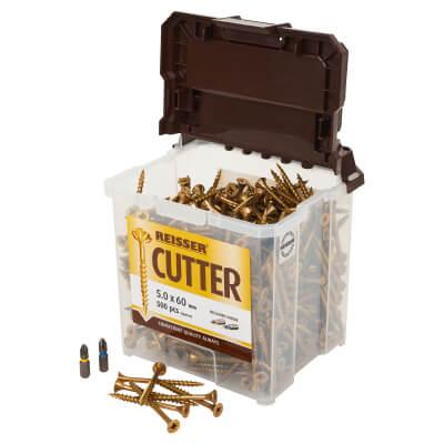 Reisser Cutter Tub - 5 x 60mm - Pack 500)