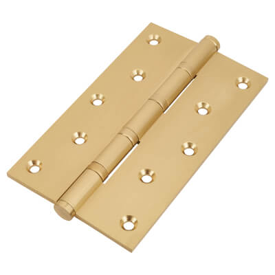 Performance Ball Bearing Hinge - 152 x 89 x 4mm - Satin Brass