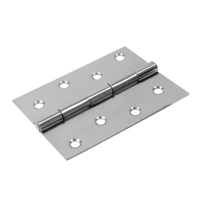 Steel Hinge - 100 x 67mm - Chrome
