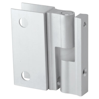 Premier Self Closing Hinge - Satin Anodised Aluminium - 17-19mm Panels