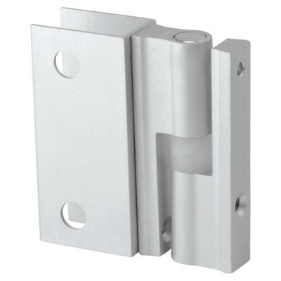 Premier Self Closing Hinge - Satin Anodised Aluminium - 17-19mm Panels