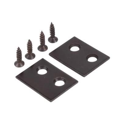 Rola Sash Stop Plate - 25 x 18mm - Bronze