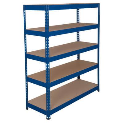6 Shelf Heavy Duty Shelving - 250kg - 2000 x 1200 x 300mm)