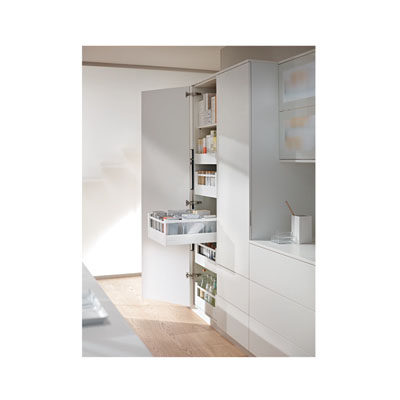 Blum Frosted Glass Panels - Suit Tandembox Antaro Pan Drawer - (H) 206mm x (D) 550mm