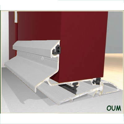 Exitex Threshold & Weatherbar Kit - 914mm - Outward Opening Doors - Mill Aluminium