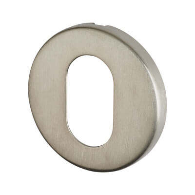 Altro Escutcheon - Oval - Satin Stainless Steel)