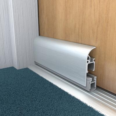 Norsound Applic A Sliding Door Acoustic Drop Seal - 1055mm