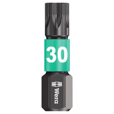 Wera Impaktor Torx Bit - Single - TC30 x 25mm)