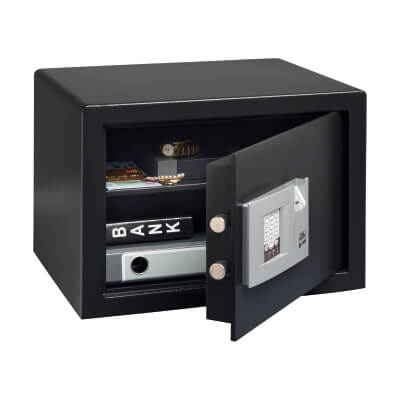 Burg Wächter P 3 E FS PointSafe Electronic Biometric Safe - 320 x 442 x 350mm - Black)