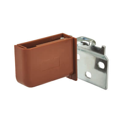 Wall Cabinet Mounting Set - Brown