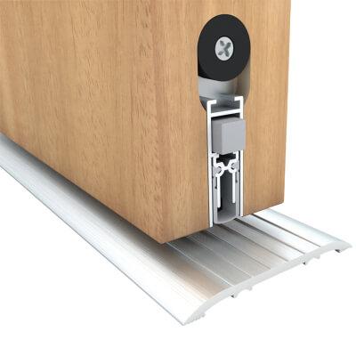 Norsound M-12 WS Locking Sliding Door Acoustic Drop Seal - 833mm