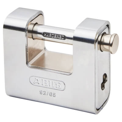 ABUS Series 92 Steel Shutter Padlock - 65mm - Steel)