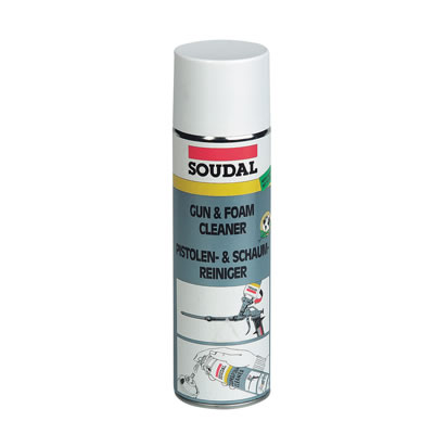 Soudal Gun and Foam Cleaner - 500ml)
