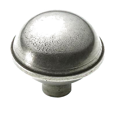 Finesse Rim Cabinet Knob - 47mm - Pewter)