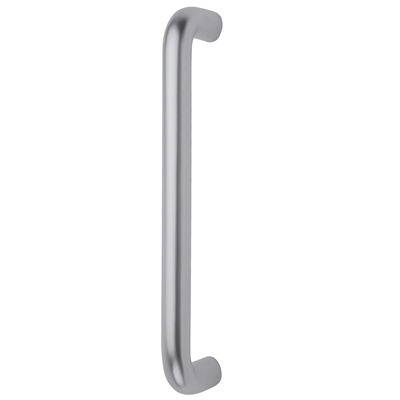 Altro 20mm Bolt Fix Pull Handle - 425mm Centres - Satin Aluminium