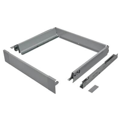 Blum TANDEMBOX ANTARO Internal Drawer - BLUMOTION - (H) 84mm x (D) 450mm x (W) 500mm - Grey