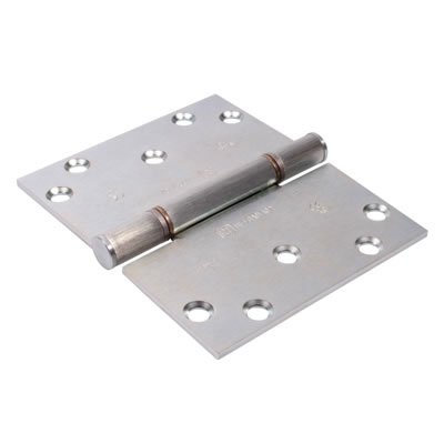 Royde &Tucker (H102-B) Triple Knuckle Projection Hinge - 100 x 124 x 3mm - Zinc Plated - Pair