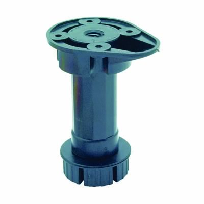 Pro Series Kitchen, Bedroom & Shopfitting Cabinet Adjustable Leg - 100-130mm - Pack 4)