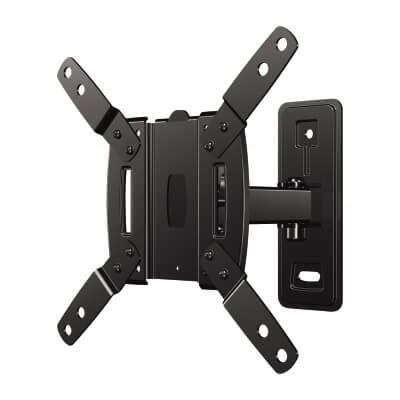 SECURA Wall Mount TV Bracket for 10-39 Inch TV's - Full Motion)