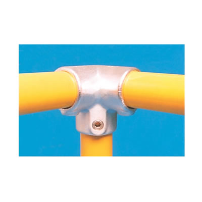 Elbow Connector - 90 degree (3 way) - Galvanised)