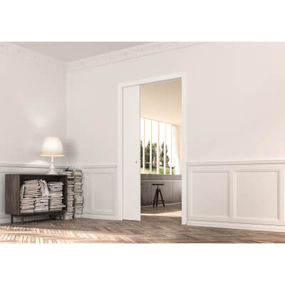Eclisse Single Pocket Door Kit - 100mm Finished Wall - 826 x 2040mm Door Size