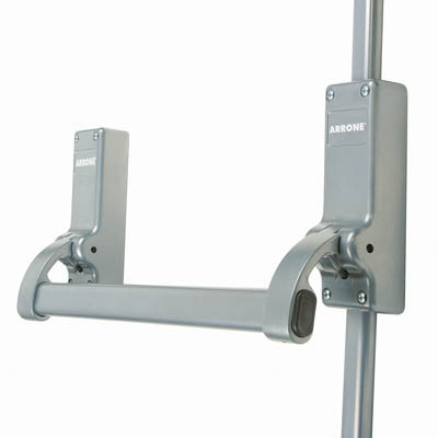 Arrone® Single Door Panic Bolt - Silver