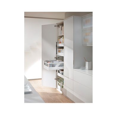 Blum Frosted Glass Panels - Suit Tandembox Antaro Pan Drawer - (H) 206mm x (D) 450mm