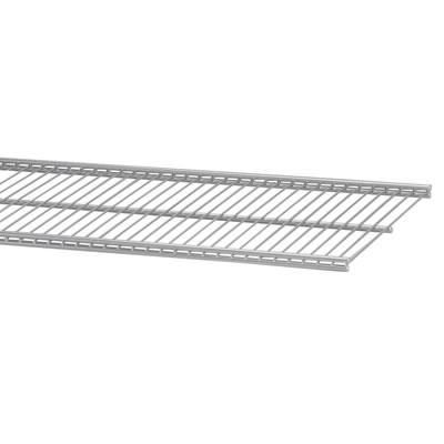 elfa® Ventilated Shelf - 607 x 405mm - Platinum)