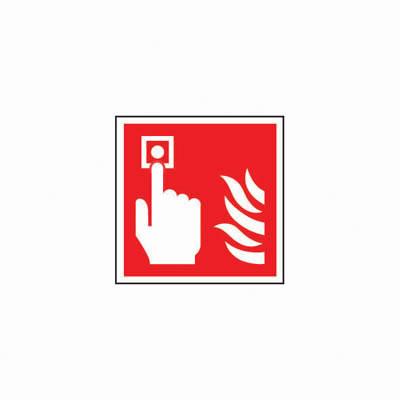 Fire Alarm Symbol - 200 x 200mm