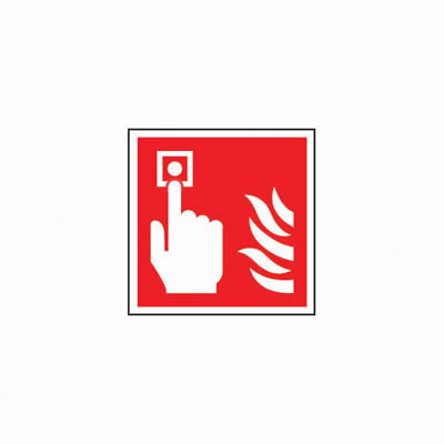 Fire Alarm Symbol - 200 x 200mm