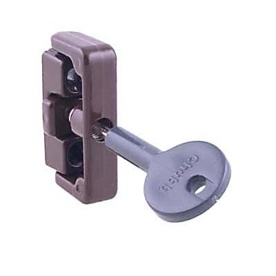 Yale® 8K101 Wooden Window Lock - Brown