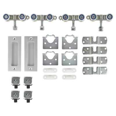 Barrier Loft Bi-Passing Sliding Door System - 2 Door Fittings Pack
