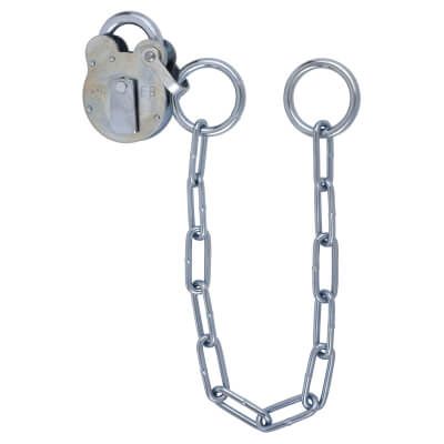 FB1 Padlock and Chain - 50mm